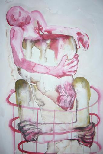 Daphné Chevallereau painting