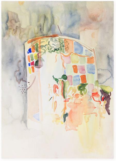 Paula Kamps painting