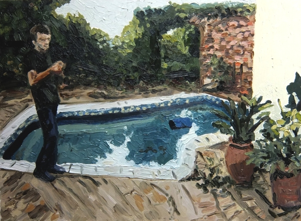 Mia Chaplin art painting