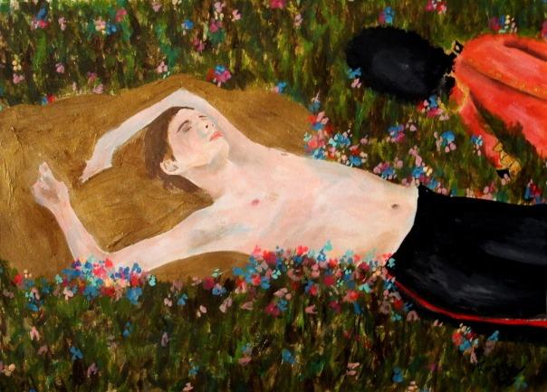 Ramonn Vieitez painting