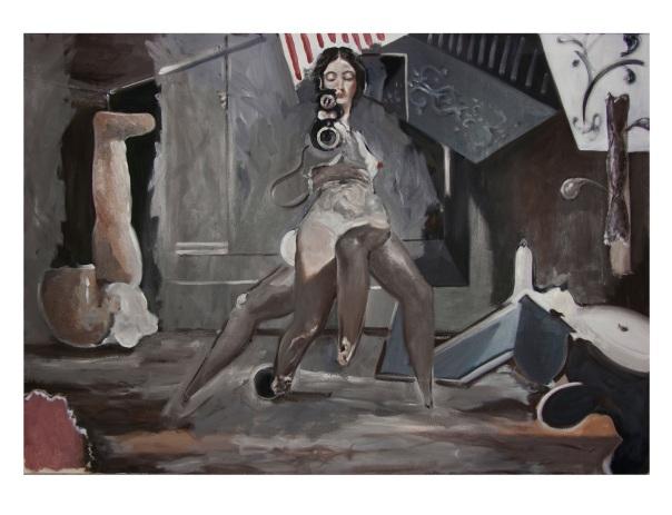 Hugo Lopez Ayuso pittura
