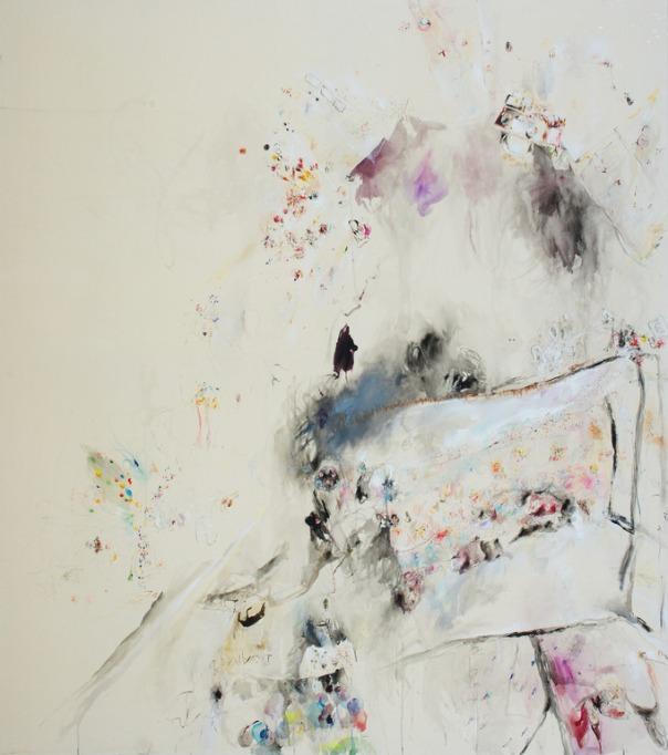 Paula Baader painting