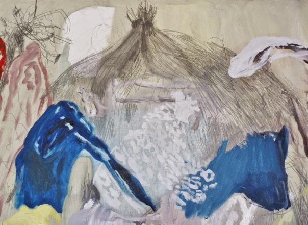 Hannelore Celen hedendaagse Belgische jonge schilderkunst
