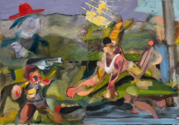 Alexander Iskin Jeune peinture Russe