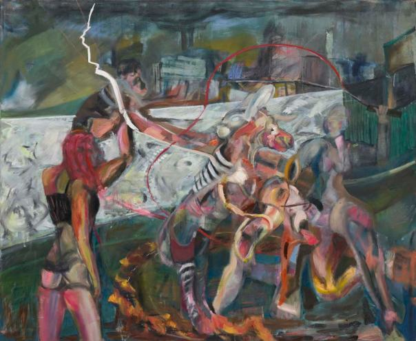 Alexander Iskin Junge Malerei